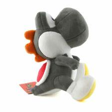 Little Buddy Super Mario Bros 6 Black Yoshi Stuffed Plush 819996013921