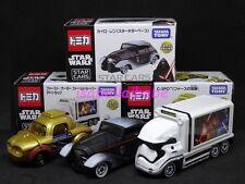 Tomica 7-11 Limited 2016 Star Wars Kylo Ren C-3PO Stormtrooper diecast car set