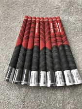 |x9 RED| GOLF PRIDE MULTI COMPOUND GRIPS MIDSIZE