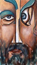 Painting Original OIL on canvas Modern Art by Vlad Pronkin 2021, JC 4 etude