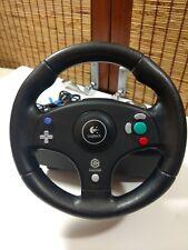 Nintendo Gamecube LOGITECH Speed Force Racing Steering Wheel E-X4A10 Video Games