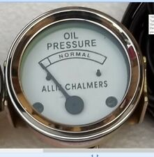 Allis Chalmers Oil Pressure Gauge 30 psi D10 D12 D14 D15 D17  I40 I60 I400 I600