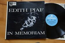 EDITH PIAF in memoriam  LP Capitol C73 557
