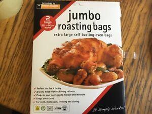 Pack of 2 Jumbo roasting bags