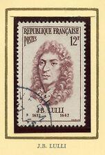 STAMP / TIMBRE FRANCE OBLITERE N° 1083 / CELEBRITE / J.B. LULLI