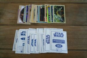 Merlin Star Wars Episode 1 Stickers - VGC! - Pick The Stickers You Need!