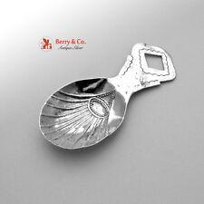 Tea Caddy Spoon Dutch 800 Silver Antique