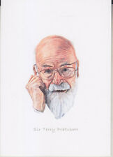 C1 Carte Postale DESSIN JULLIAN Auteur SF Sir Terry PRATCHETT