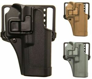 BLACKHAWK! SERPA CQC Concealment Belt OWB Holster, Matte Finish, Belt & Paddle