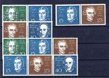 BRD 1959 Blockausgabe Nr. 2 Beethoven Zusammendrucke MiNr. 315 - 319 postfrisch