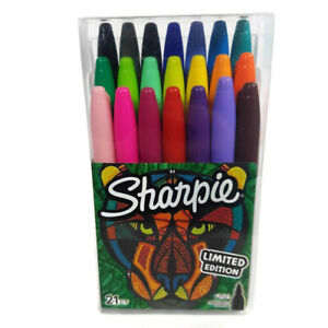 Sharpie Limited Edition Fine Tip Permanent Markers Art Craft 21 Count New