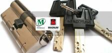 Millenco Yale Magnum Security Euro Cylinder UPVC Door Lock Anti Snap 45/45 Brass