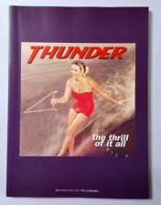 Thunder The Thrill Of It All Band Score Japan Guitar Tab