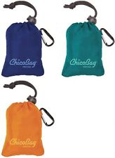 NEW - ChicoBag® - The Original Ultra Compact Reusable Bag with Clip - 3 Pack