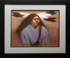 Frank Howell Lakota Shirts Warrior HAND SIGNED with black frame Make an Offer
