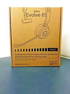 Jabra Evolve 65 Wireless Bluetooth Over The Head Headset