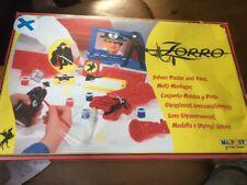 Vintage Zorro Plaster and Paint set Masport New Old Stock NOS