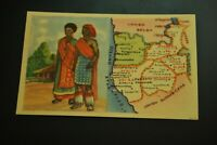 Vintage Cigarettes Card. South West Africa (Angola). WORLD'S REGIONS