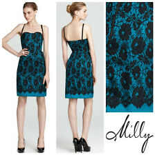 MILLY * GENEVIEVE * LACE PRINT  BUSTIER CORSET  PENCIL  DRESS  Sz 8  NWT  $ 395