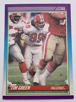 American Football Card💎1990💎Score - Atlanta Falcons - Tim Green🌟206🌟