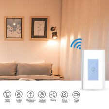 Smart Wifi Light Wall Switch Touch Remote Controller For Alexa Google Home Life