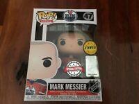 NHL: Oilers - Merk Messier-CHASE- US Exclusive Pop! Vinyl [RS]-FUN43519-FUNKO