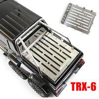 Stainless Steel Trunk Plate Carrier for Traxxas TRX-6 Mercedes-Benz G63 6X6 Mode
