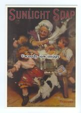 ad0743 - Sunlight Soap - For All The Family & The Dog -  Modern Advert Postcard