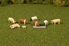 BACHMANN SCENE SCAPES PIGS HO SCALE FIGURES