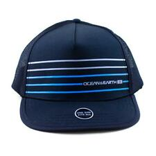 96e901ab25c Mens Surfing Cap Kuta Mesh Trucker Hat for Kayaking in Blue from Ocean and  Earth