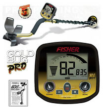 "Fisher GOLD BUG PRO Metal Detector w/ 5"" DD Waterproof Coil"