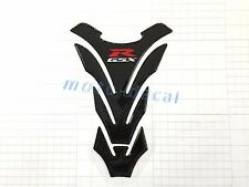 Real Carbon Firber Suzuki GSXR1000 750 600 Tank Pad 3D Decal Protector Sticker