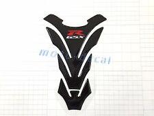 Real Carbon Fiber Suzuki GSXR1000 750 600 Tank Pad 3D Decal Protector Sticker