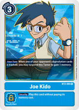 Digimon Card Game Joe Kido BT2-085 Rare