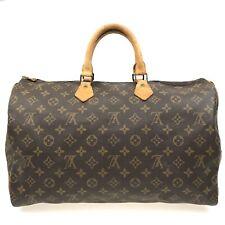100% authentic Louis Vuitton Monogram Speedy 40 Hand Bag M41522 [Used] {05-088B}