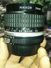 Nikon - Nikkor  F Lens 24mm, 1:2, AI-S