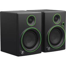 """Mackie CR4 4"""" Multimedia Studio Monitors Powered Bi-Amplified Speakers"""