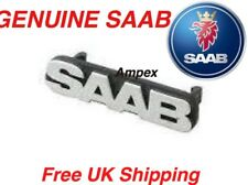 GENUINE SAAB 93 9-3 98-03 CHROME GRILLE BADGE EMBLEM 4830071 - NEW