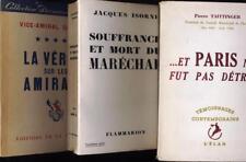 Souffrance et mort du marechal verite sur les amiraux Paris ne fut pas détruit