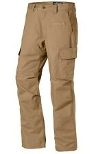 LAPG Men's URBAN OPS Tactical Pant w/ Elastic Waistband - Coyote Brown