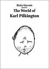 THE WORLD OF KARL PILKINGTON / RICKY GERVAIS : AU1/2 : PB : NEW BOOK : FREE P&H