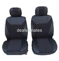 FABRIC FRONT SEAT COVERS FOR VW TRANSPORTER T4 TAILORED