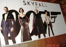 "SKYFALL  007 ORIGINAL 6 SIX SHEET GIANT ORIGINAL INDIA ENGLISH POSTER 52"" X 106"""