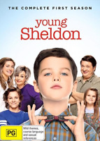 Young Sheldon : Season 1 (DVD, 2-Disc Set)