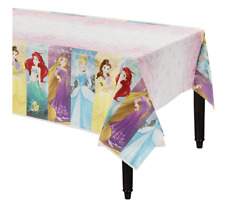 Disney Princess Plastic Table Cover ~ Girls Birthday Party Supplies Decoration