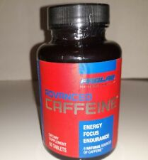 Prolab Advanced Caffeine Energy Focus Endurance 60 Tablets Exp 1/31/22