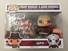 Funko Pop FREDDY KRUEGER Robert England JASON VOORHEES Kane Hodder Autographs