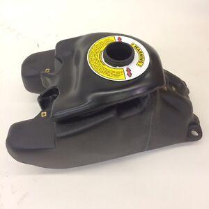 FXCNC Racing ATV tapa de tanque de combustible de aluminio para Kawasaki KFX 400