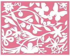 LIFESTYLE CRAFTS QUICKUTZ  FLORET  EMBOSSING FOLDERS    EF0006