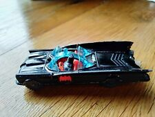 1960s Vintage Husky Batmobile Die Cast Metal Toy Car Inc Batman